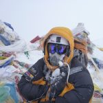 Me on the summit of Mt Everest!
