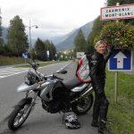 Arriving in Chamonix