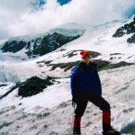 Me feeling the altitude on the mountain