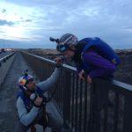 Base Jumping. Perrine Bridge, Twin Falls, Idaho