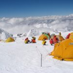 High Camp on Cho Oyu