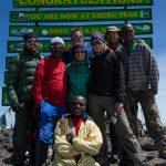 Mt Kilimanjaro, July 2012